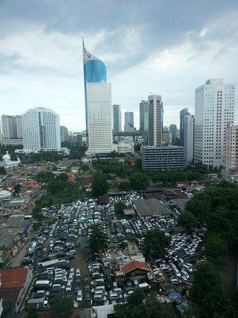 InterContinental Jakarta MidPlaza : View from Club Lounge