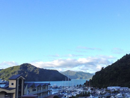 Harbour View Motel Picton : View from balcony