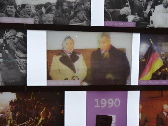 Parlamentarium : Romanian revolution 1989