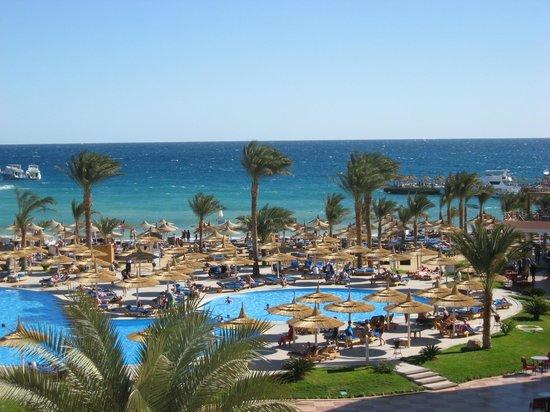 Beach Albatros Resort: Aussicht vom Zimmer