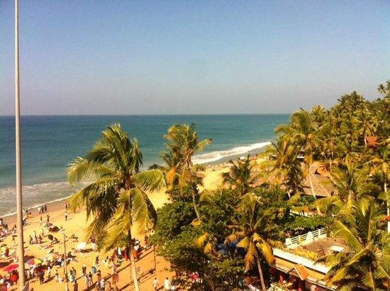 Hindustan Beach Retreat : вид из номера