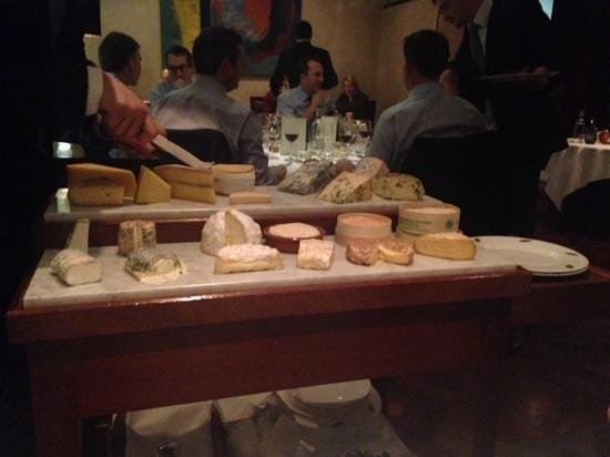 The Square : Amazing cheese board