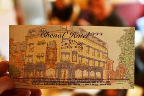 Le Chenal Hotel : Business card of the Hotel