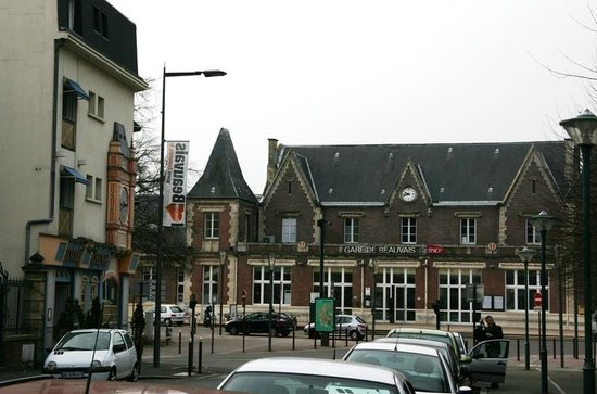 Le Chenal Hotel : There is the train station in front of the hotel