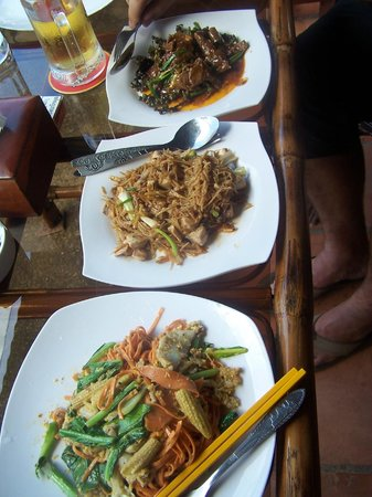 Bayon Beach Bar & Restaurant: .