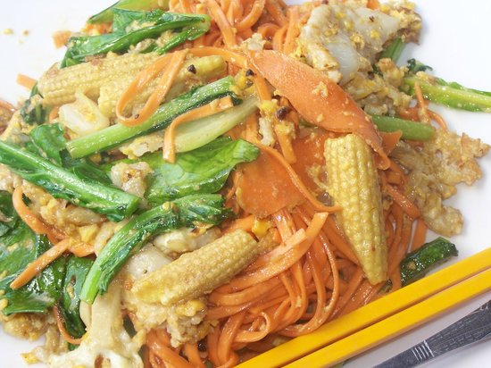 Bayon Beach Bar & Restaurant: Veg Noodles