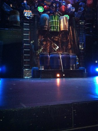 Stomp Stage from seats