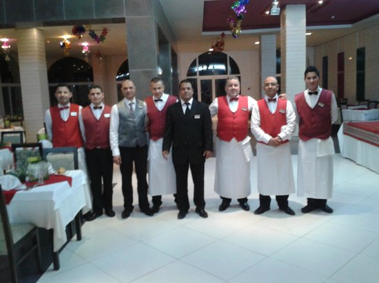 Aziza Residence Thalasso Golf: some of the restaurant  staff