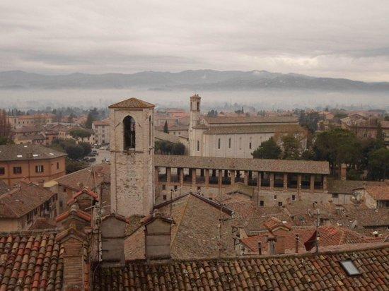 Palazzo dei Consoli and Museo Civico: panorama dalla terrazza