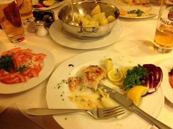 Hotel Wittelsbach: Dinner.  Yum.