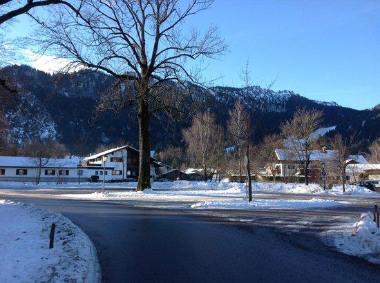 Hotel Wittelsbach: Oberammergau vistas