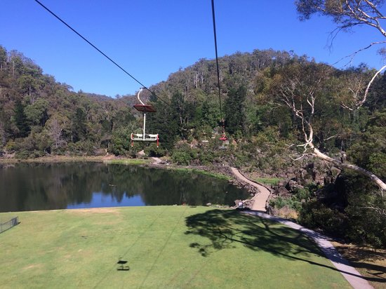 Cataract Gorge Reserve: Take the scenic chairlift ride. Great for young families or mature age tourists.
