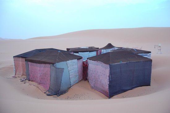 Hotel Kasbah Mohayut: Desert camp
