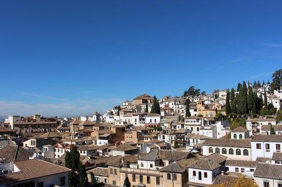 Hotel Carmen Granada: Vista desde la azotea del hotel