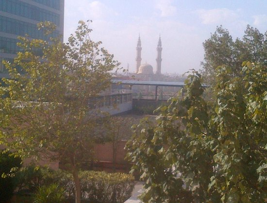 Novotel Cairo 6th Of October: View of local Mosque from balcony