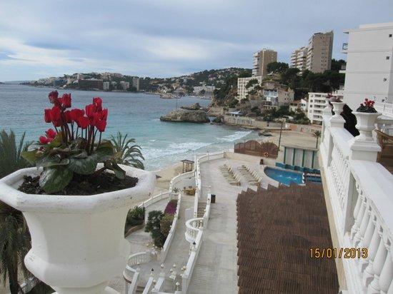 Hotel Nixe Palace: Вид с террасы.