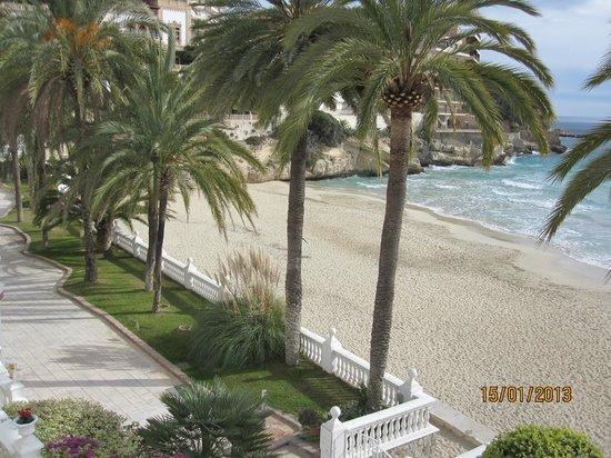 Hotel Nixe Palace: Вид на пляж.