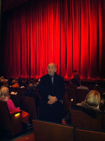 New York City Center Theater: Seat view from G row