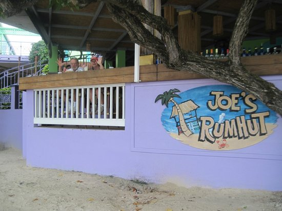 Joe's Rum Hut: Best spot in the house