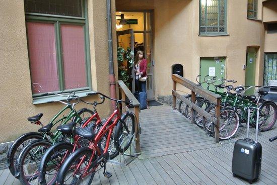 City Backpackers Hostel: vélos de location