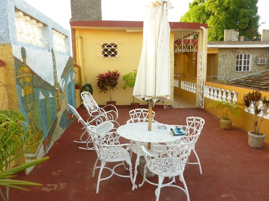 Casa Noemi y Otto: terrasse where you can have great parties accompanied by a refreshing breeze