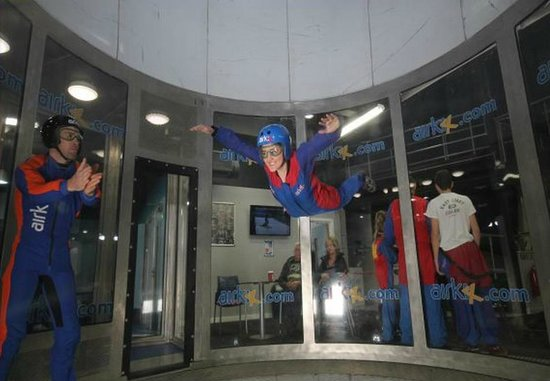Airkix Indoor Skydiving Basingstoke: Such a good day, can't wait for easter to do it again!