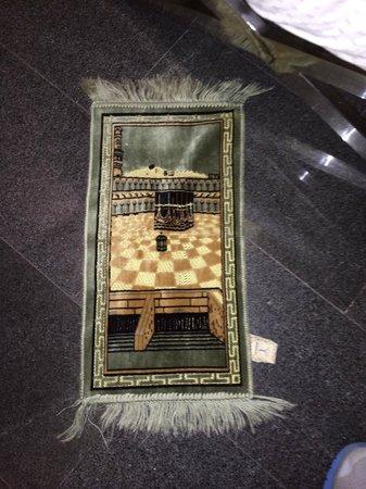 The Quincy Hotel by Far East Hospitality: Tiny prayer rug