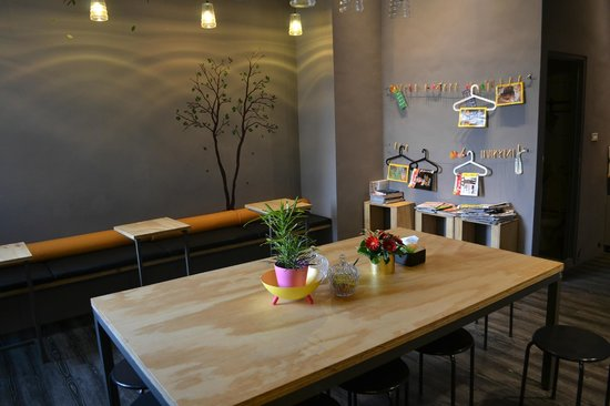 La Place : Cosy breakfast corner