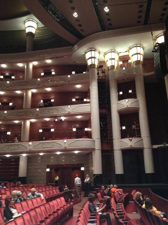 Kravis Center for the Performing Arts : Theatre room