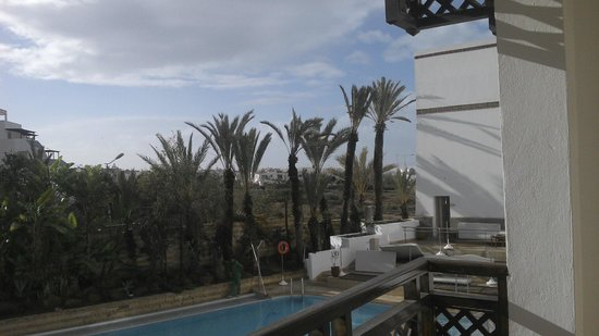 Hotel Timoulay & Spa Agadir : view from the balcony