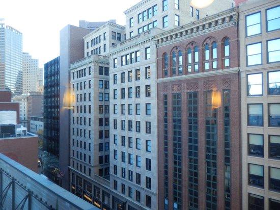 Hyatt Regency Boston: Vue de l'étage