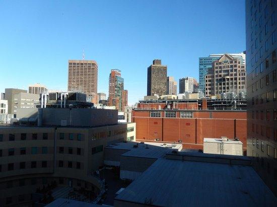 Hyatt Regency Boston: Vue du 9ème étage