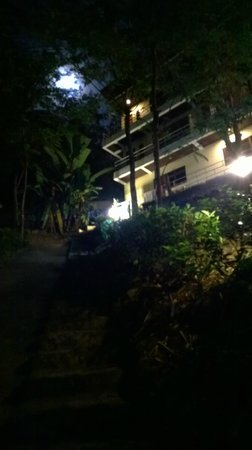 Kata Mountain Inn: View at night
