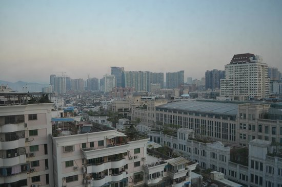 Millennium Harbourview Hotel Xiamen : Great view of the city