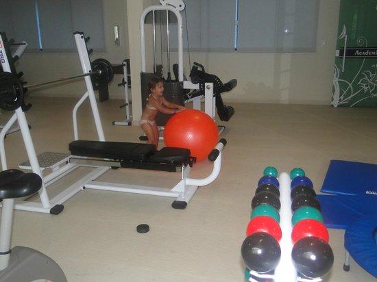 Bombinhas Summer Beach Hotel & Spa : gym