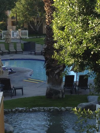 Westin Mission Hills Golf Resort & Spa: small pool view from suite