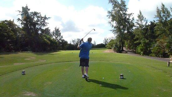 Ile Aux Cerfs Golf Club: course