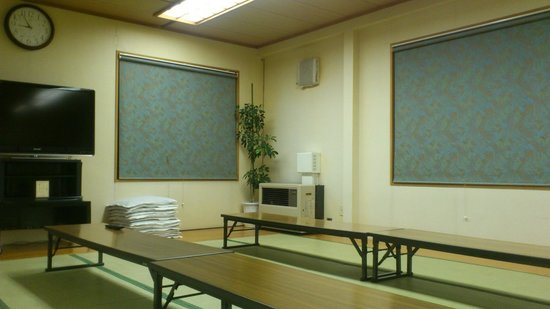 Makkari Onsen: The indoor picnic room