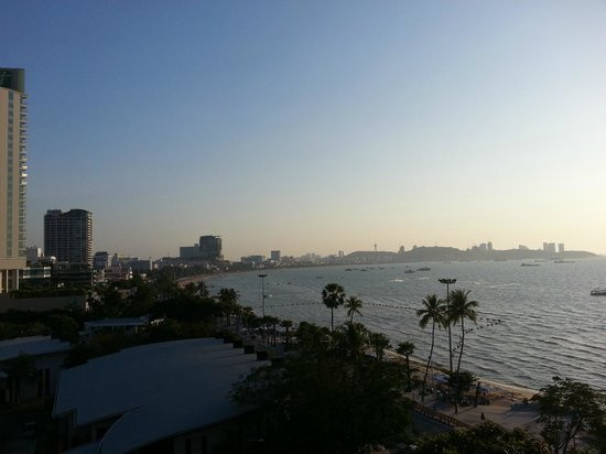 Dusit Thani Pattaya: view from room