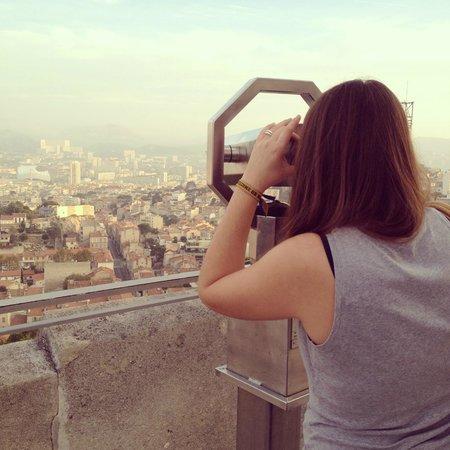 Basilique Notre-Dame de la Garde : Vue panoramique