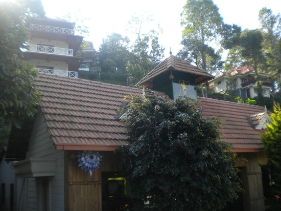 Birds Valley Resorts Munnar: Reception & Room view from Reception