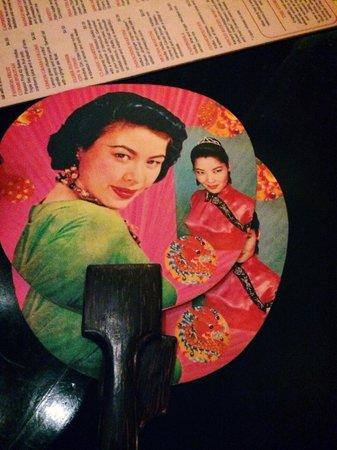 Miss Wong Cocktail Bar: Miss Wong Decor