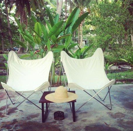 Costa Lanta: bungalow private terrace