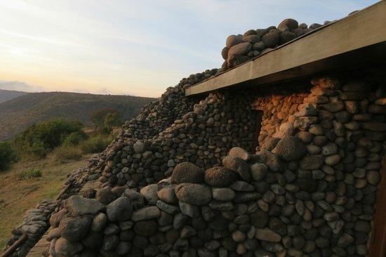 Ngorongoro Serena Safari Lodge : the rooms view