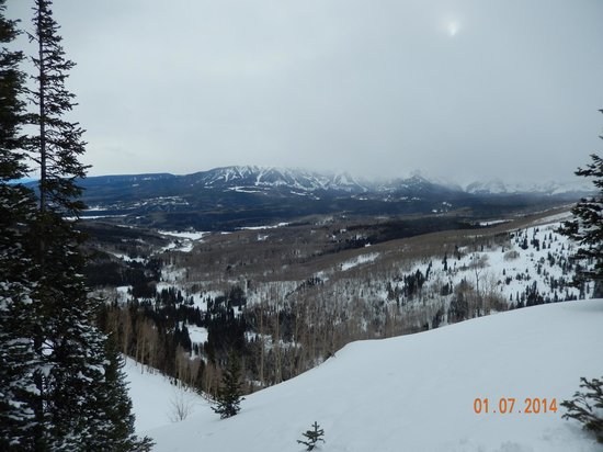 Snowmobile Central Reservations: Great Views