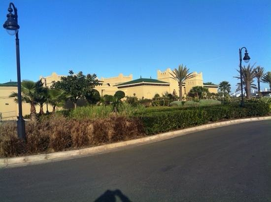 Mazagan Beach & Golf Resort : club house golf