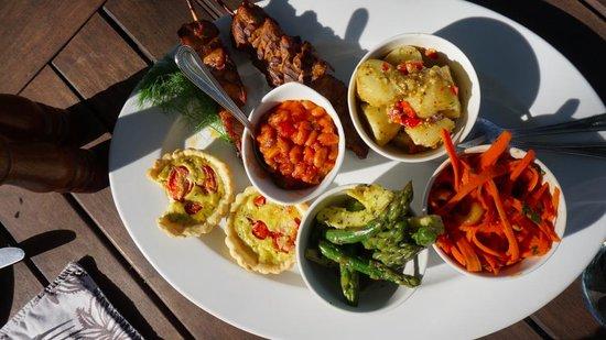 Dulini Lodge: Lunch at Dulini, by Chef Jess