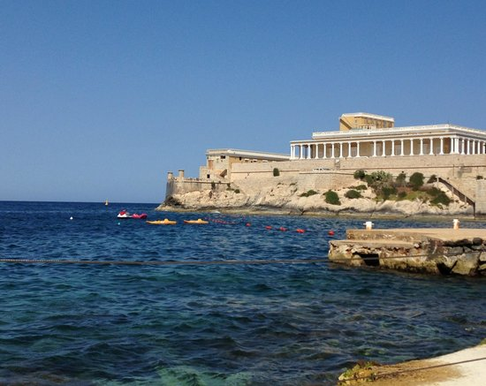 The Westin Dragonara Resort, Malta: View from the sunloungers