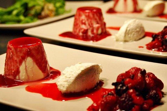 Baltasound Hotel: Homemade Cheesecake