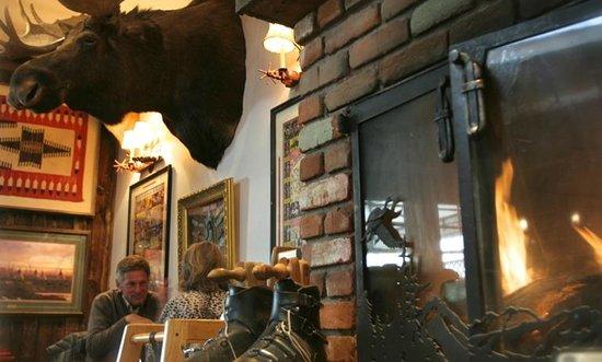 Kneadery: Fireplace